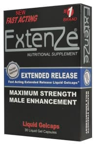 extenze gel cap
